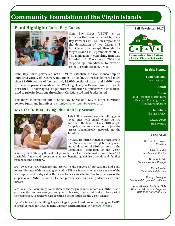 Fall 2017 Newsletter_page 1